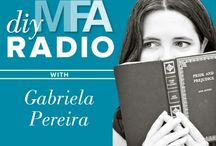 DIY MFA Radio / Links, resources and articles about the DIY MFA podcast? / by DIY MFA