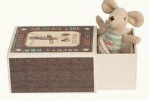 Les souris Maileg / Collection des adorables petites souris et univers Maileg