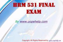 HRM 531 Final Exam Latest Online HomeWork Help