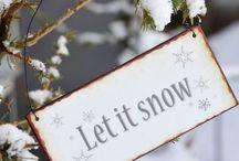 Snow, ice, frozen & hoar- frost