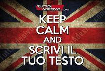 #Keep Calm #Adesivi personalizzati / #keep calm #decal #personalizzati Crea subito il tuo adesivo personalizzato KEEP CALM! http://www.tuttoadesivo.com/keep-calm-personalizzati-c-73_88_164/