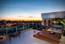 Tak terrasser