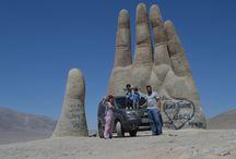 Mano del Desierto / De Doblô no deserto do Atacama com a família