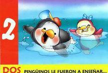Libro cuento pingüino #