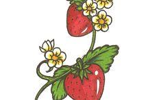 Strawberry Tattoos