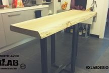 I nostri Lavori - L'arredamento della tua casa in legno - Xlab Design