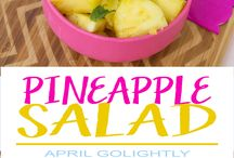 Salad Recipes / salad recipe ideas / easy salads / yummy salads