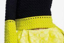 Neon yellow green black / Moodboard 1