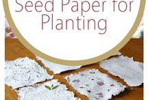 Mother's Day seed paper