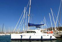 DINYEPER / #yacht #sailing #catamaran #bluevoyage #yachtcharter. www.cnlyacht.com