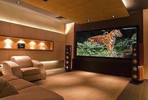 Ev sineması odaları