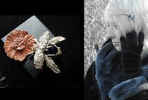 Silver Insects / My jewelry inspired by insects