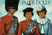 Royal Paper Dolls / Paper dolls of present-day Royals