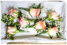 Flowers for your wedding / Flowers for table settings, the bride and bridesmaids
