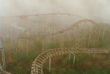 abandoned roller-coasters