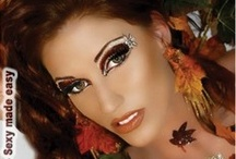 Make up / Add on to the beauty with various make up products and give your self a complete new and dramatic look. Variety of eye makeup styles and kits available just for you / by SpicyLegs.com - Lingerie Store