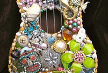 Old Jewelry Art / Works Of Art From Old Jewelry
