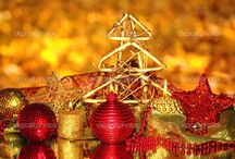 Gold Christmas Tree Decor / Gold Christmas Tree Decor