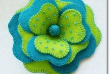 Ribbon,fabric,lace flower craft