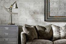 New! Attic Wallpaper Collection