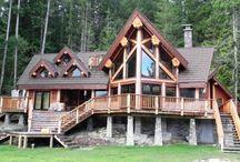 Log cabin / by Elizabeth Barajas