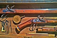 Flintlock guns and accessories