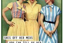 Crazy Ladies / 1950's