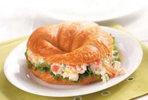 Crab Salad Croissants