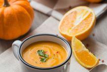 Soupe Potiron, Carotte & Orange - Cuisine Addict Plus