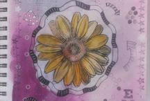 Art Journal Featuring Stampendous