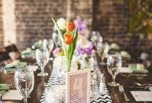Weddings: Chic & Contemporary / features weddings that favor clean lines and a modern esthetic. This bridal couple appreciates the juxtaposition of neutrals with bold pops of color or black and daring architectural design.