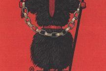 Krampus / Be afraid.