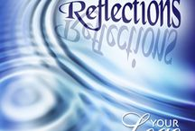 "Reflections: life, love & self / ""The beginning of love is to let those we love be perfectly themselves, and not to twist them to fit our own image. Otherwise we love only the reflection of ourselves we find in them.""	  Thomas Merton"