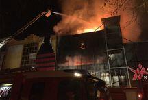 Ankara Sitelerde Mobilya Mağazasında Yangın!