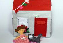 dollhouse / handmade dollhouse, inspiration,