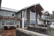 Home Tour: Seattle, WA / The homeowners in this water front home used lots of windows without grids to take advantage of the views for ultimate indoor-outdoor living.  / by Milgard Windows & Doors