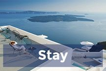 Stay / The best places to stay in Greece.