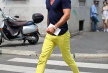 Лысые модные мужчины