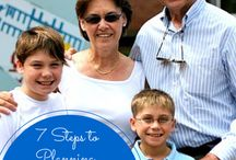 Multi Generational Travel / Pin and links to articles about multi-generation vacations.