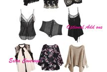 Lingerie - What to wear - Guide / Don't know what to wear for your boudoir session? Here are some looks that you can dress up or down to fit your style and body needs. These are options that you probably don't often think about when shopping for boudoir. The number one question I get is how do I hide my most self conscious parts. When thinking of cover-ups, most people automatically think rob, there there are sexier and much more flattering options that you may just have hanging in your closet!�