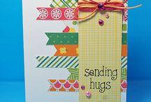 Cards: Ribbon, String & Stripes