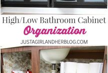 Bathroom Organization / by Danielle Fawaz