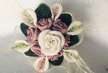 Bouquet / Bouquet di fiori all'uncinetto