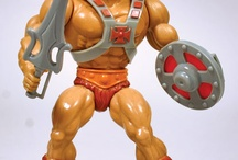 Masters of the Universe / A collection of some of the 1980's figures that I had as a kid.