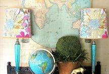Maps and Globes! / by Kristin Hahn