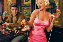 Elvis, Marilyn og div