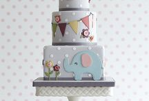 Seb's christening cake
