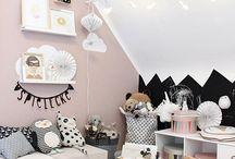 Kidsroom: Trendige Dekoideen fürs Kinderzimmer / liebevolle und moderne Ideen für Kinderzimmerdeko, Kinder-Schlafzimmer und Spielecken | lovely and modern decoration ideas for kids' room, kids bedroom and play areas