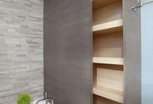 armario oculto en baño