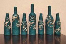 sticle decorate